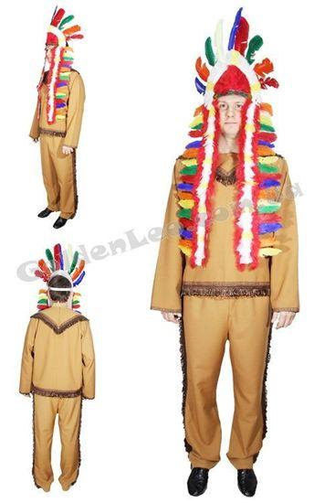 Костюм Вождя Индейцев для взрослого