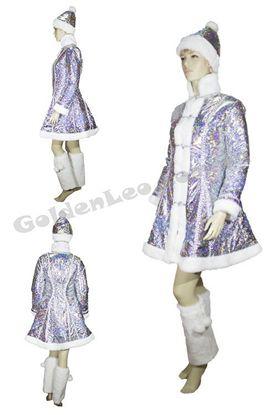 Изображение Прокат костюма Снегурочки для взрослых