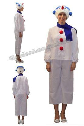 Зображення Новорічний костюм Сніговика прокат