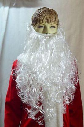 Новогодняя борода Деда Мороза