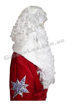 Изображение Борода Деда Мороза с париком