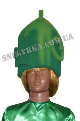 Карнавальная маска Огурец