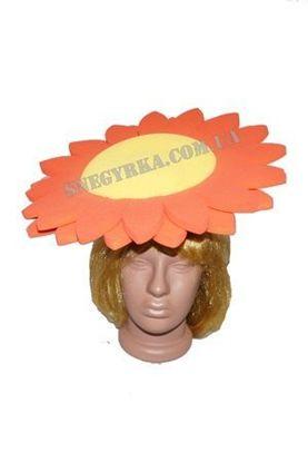 Карнавальная маска Цветочек