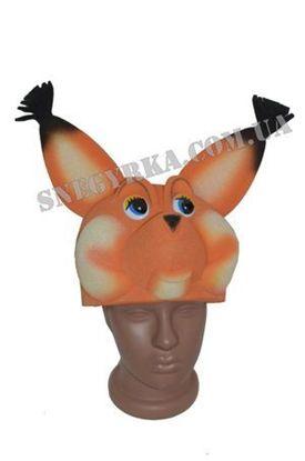 Карнавальная маска Белочка