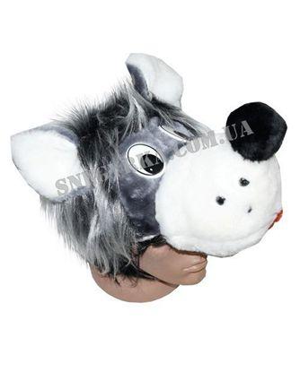 Карнавальная шапка Волк