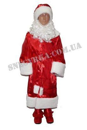 Костюм Дед Мороз красный