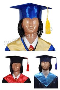 Зображення для категорії Дитячі академічні шапки
