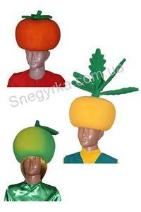 Зображення для категорії Маски, шапки овочів і фруктів