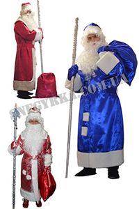 Зображення для категорії Костюми Діда Мороза напрокат