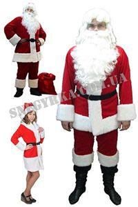 Зображення для категорії Костюми Санта Клауса напрокат