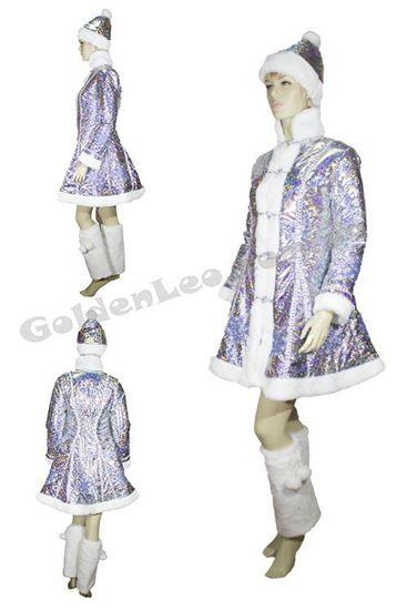 Зображення Прокат костюма Снегурочки для взрослых
