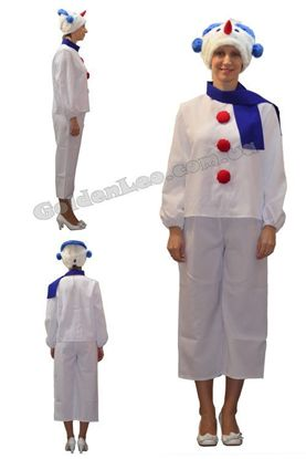Изображение Новогодний костюм Снеговик прокат