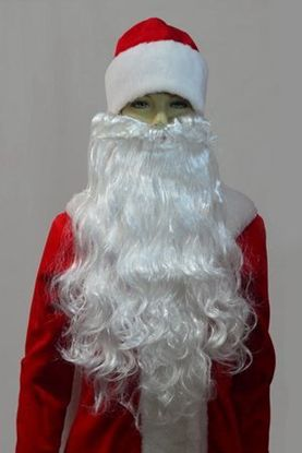 Борода Санта Клауса, борода Деда Мороза
