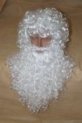 Шикарная борода и парик Деда Мороза