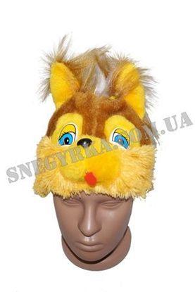 Карнавальная маска Белочки