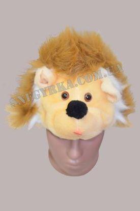 Карнавальная маска Ежик