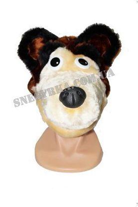 Карнавальная маска Медведь
