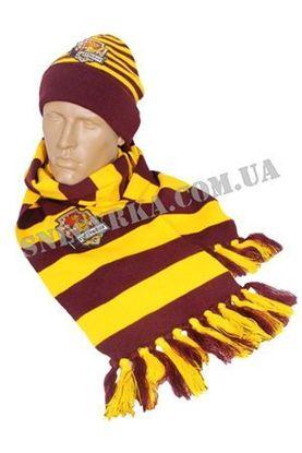 Комплект Шарф и шапка Гарри Поттера взрослый