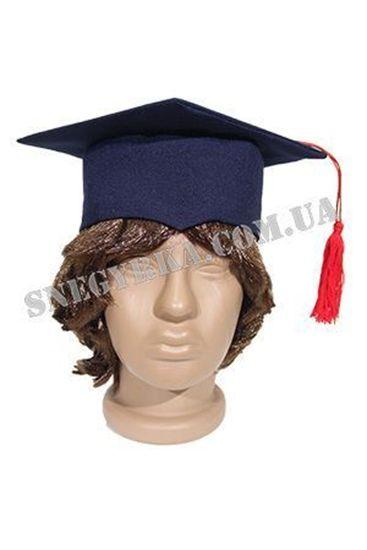 Квадратная шапка ученого для ребенка