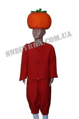 Детский костюм Помидор прокат