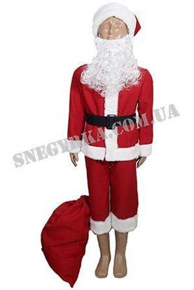 Костюм Санта Клауса для мальчика напрокат