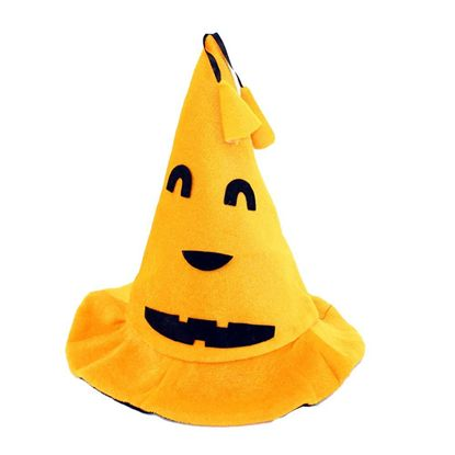 шапка на Хэллоуин тыква