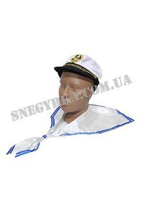 Морской воротник и шапка моряка