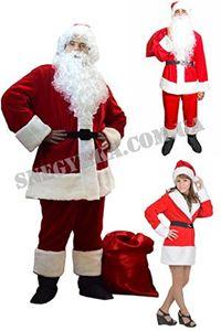 Изображение для категории Костюмы Санта Клауса