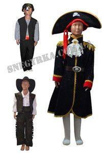 Зображення для категорії Костюми Пірати Ковбої