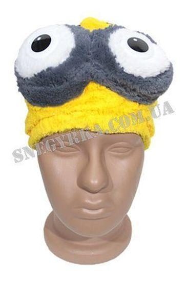 Карнавальная маска Миньон 2 глаза