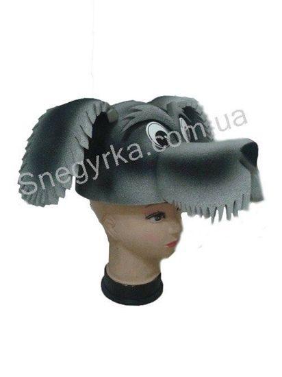 Карнавальная шапка Собака