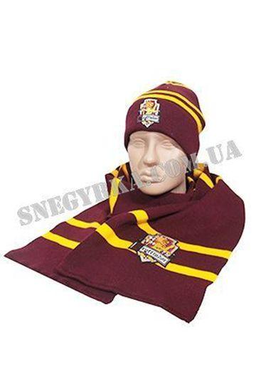 Комплект шапка-шарф  Гарри Поттера