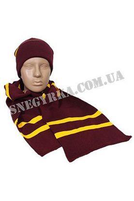 Комлект шапка та шарф Гаррі Поттера