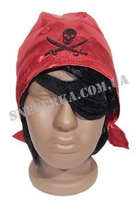 Набір Пірата бандана і пов'язка на око