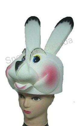 Карнавальная шапка Зайчика из поролона