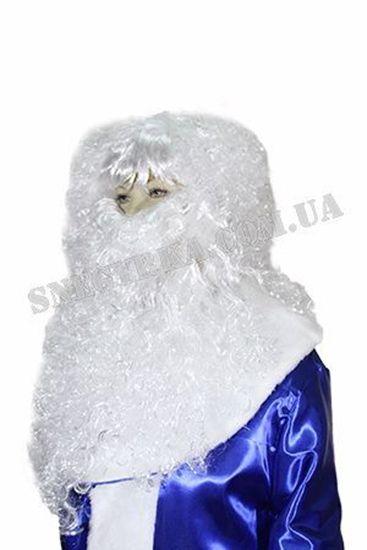 борода и парик Деда Мороза