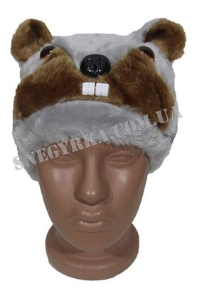 Карнавальна маска Бобрf