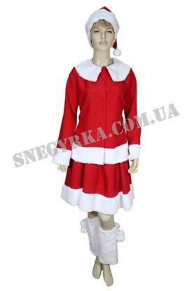 костюм Санта Клаус женский