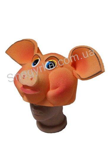 карнавальна маска свиня