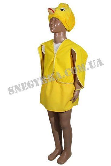 костюм цыпленок для девочки