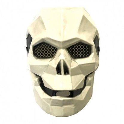 маска киборг череп