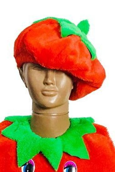 карнавальная шапка помидор