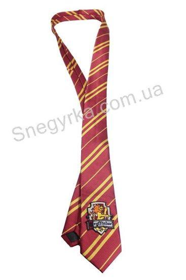 Галстук Гарри Поттера с эмблемой