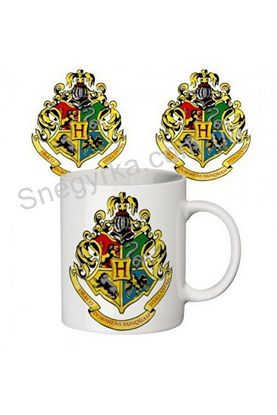 чашка з принтом Гогвортс