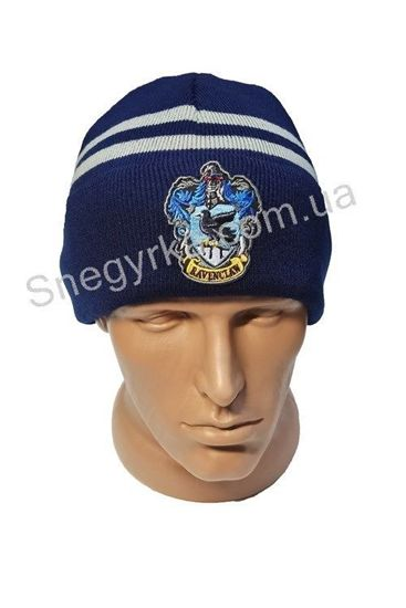 вязаная шапка Рейвенклов